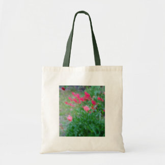 Green and Neon Pink Tote Bag