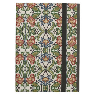 Green and Orange Decorative Pattern iPad Air Cover
