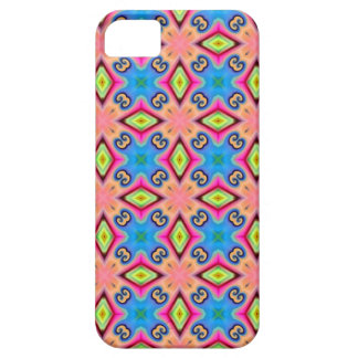 green and pink fun pattern i phone 5 case
