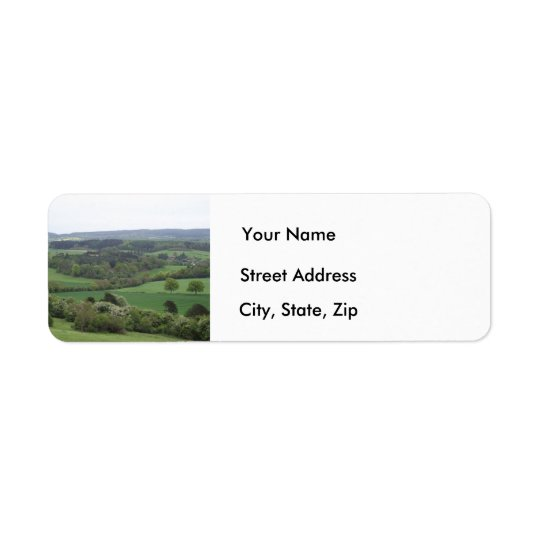 Green and Pleasant Land Address Labels