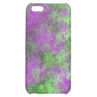 GREEN AND PURPLE GRUNGE iPhone 5C CASE