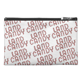 Green and Red Candy Land Logo Travel Accessory Bag
