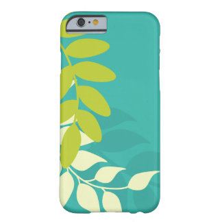 Green and Teal Vines Barely There iPhone 6 Case