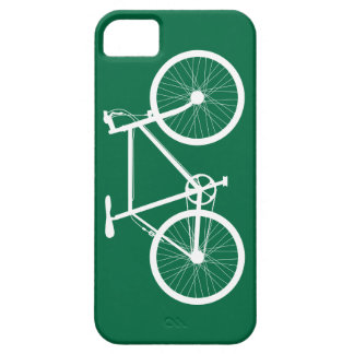 Green and White Bicycle iPhone 5 Cases