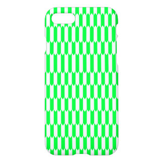 Green and white Geometric pattern iPhone 8/7 Case