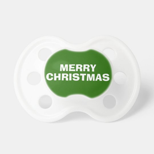 Green and White Merry Christmas Dummy