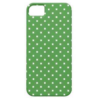 Green and White Pattern Dots iPhone 5 Case