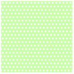 Green and White Polka Dot Pattern. Spotty. Acrylic Cut Out