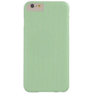 Green and White Vertical Chevron iPhone/iPad Case