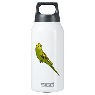 Green and yellow budgie