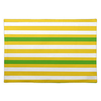 Green and Yellow Look Placemat