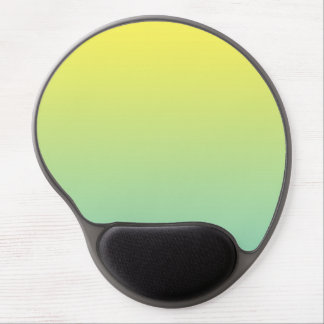 """""""Green And Yellow Ombre"""" Gel Mouse Pad"""