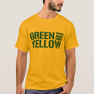 Green And Yellow Shirt