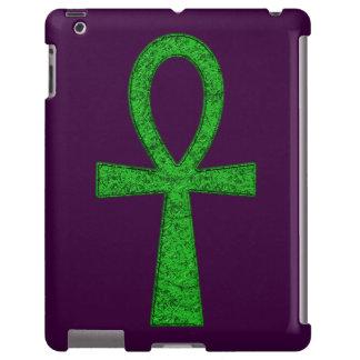 Green Ankh iPad Case