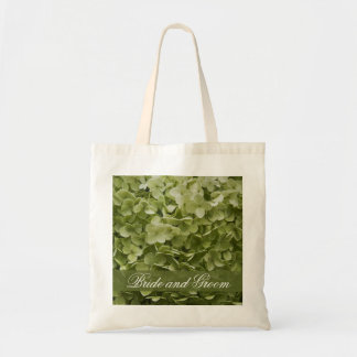 Green Annabelle Hydrangea Wedding Tote Bag