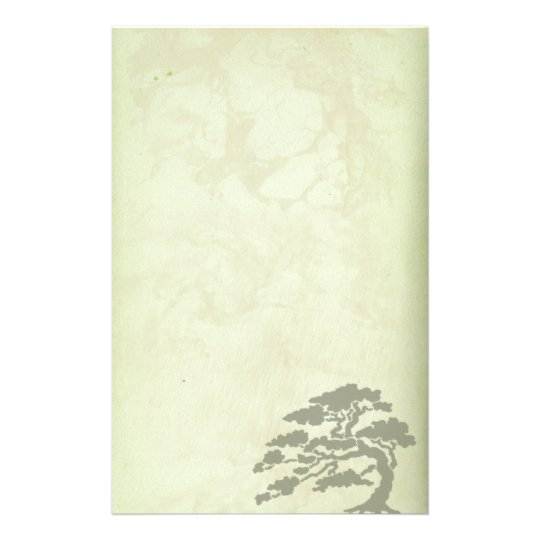 Green Antique Reproduction Stationery