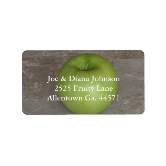 Green Apple Avery Address Label