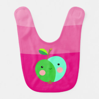 Green Apple Baby Bib