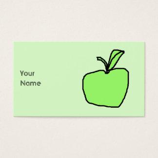 Green Apple. Business Card