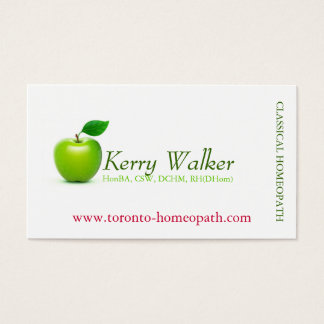 Green Apple Business Card