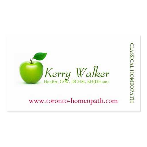 Collections of green apple business cards green apple business card templates fbccfo Choice Image