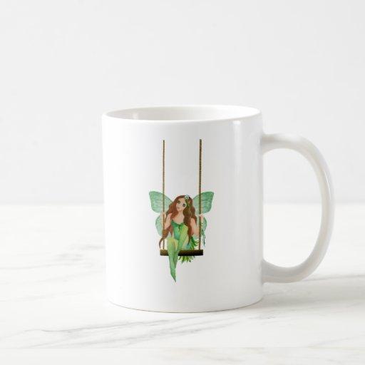 Green Apple Fairy Mug