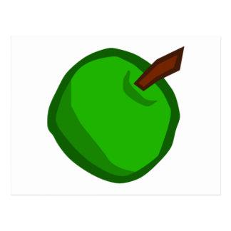 Green Apple Fruit Postcards