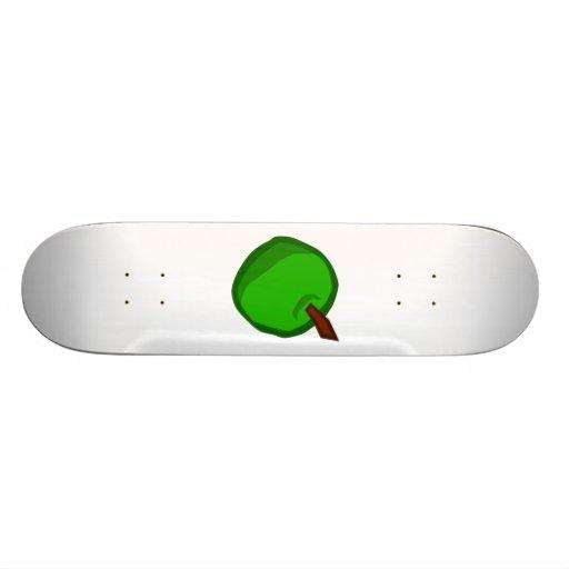 Green Apple Fruit Skate Deck