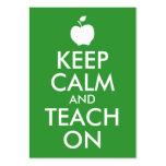 Green Apple Keep Calm and Teach On