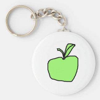 Green Apple. Key Ring