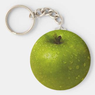 Green apple key ring