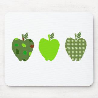 Green Apple Mouse Mat