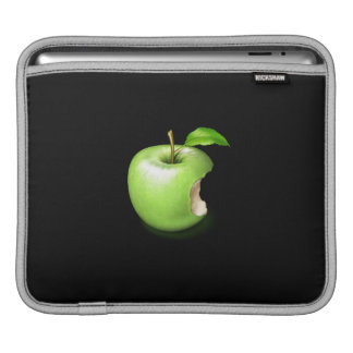 Green apple on Rickshaw iPad sleeve. iPad Sleeve
