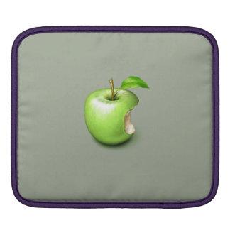 Green apple on Rickshaw iPad sleeve. iPad Sleeve