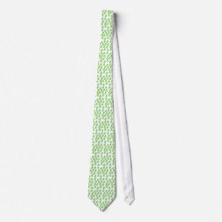 Green Apple Pattern. Tie