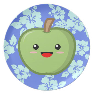 Green Apple Plates