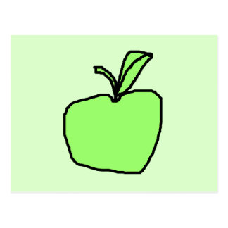 Green Apple Post Cards