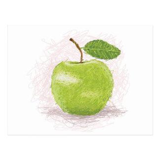 green apple postcards