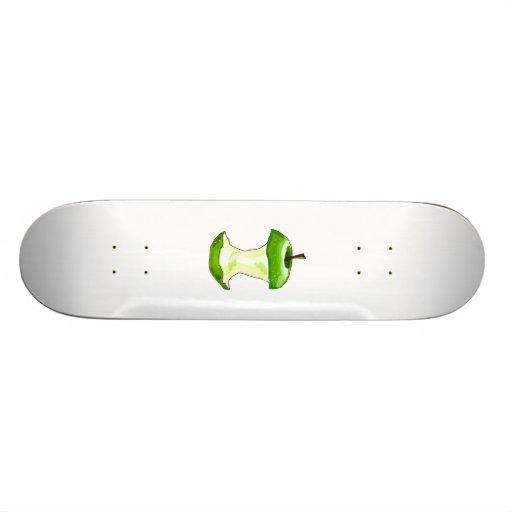 Green Apple Skate Board Deck