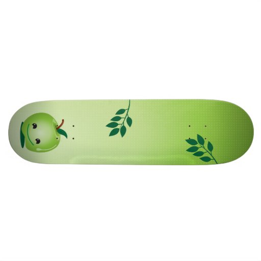 Green apple Skateboard