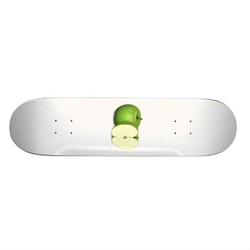 Green Apple Skate Board