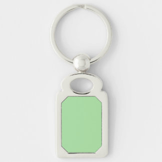 Green Apple Solid Color Keychain