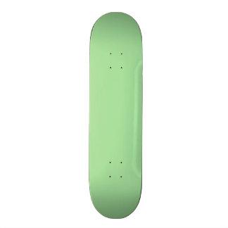 Green Apple Solid Color Custom Skateboard
