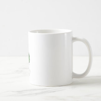 green apple, tony fernandes basic white mug