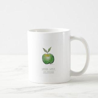 green apple, tony fernandes coffee mug