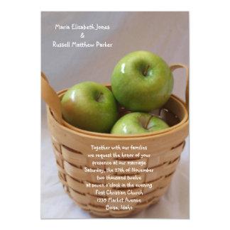 Green Apple Wedding Invitations