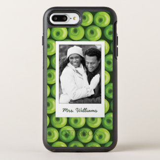 Green Apples | Add Your Photo OtterBox Symmetry iPhone 8 Plus/7 Plus Case