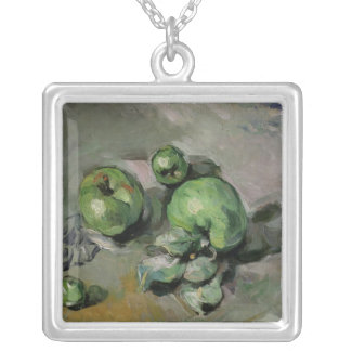 Green Apples, c.1872-73 Silver Plated Necklace