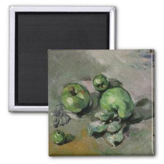 Green Apples, c.1872-73 Square Magnet