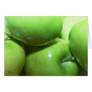 Green Apples Notecard